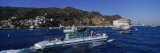 Boats in the Ocean, Santa Catalina Island, California, USA Wall Decal by  Panoramic Images