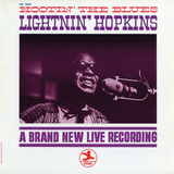 Lightnin' Hopkins - Hootin' the Blues Wall Decal