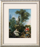 La Surprise Print by Jean-Honoré Fragonard