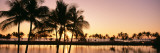 Sunset, Anaehoomalu Beach, Hawaii, USA Wall Decal by  Panoramic Images