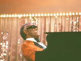 Ray Charles Performing Wall Decal