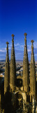 High Section View of Towers of a Basilica, Sagrada Familia, Barcelona, Catalonia, Spain Wall Decal by Panoramic Images