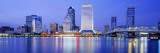 Night, Jacksonville, Florida, USA Wall Decal by Panoramic Images