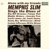 Memphis Slim - Alone with My Friends Vinilos decorativos
