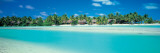 Aitutaki Atoll, Cook Islands, New Zealand Wall Decal by  Panoramic Images