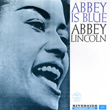 Abbey Lincoln - Abbey is Blue Wallstickers af Paul Bacon