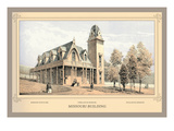 Missouri Building, Centennial International Exhibition, 1876 Wall Decal by Thompson Westcott