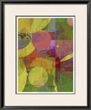 Vibrant Ellipses I Prints by Ricki Mountain