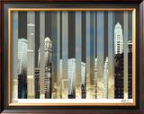 City of Silver Limited Edition Framed Print by M.J. Lew