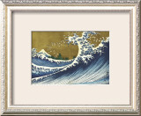 Great Wave (from 100 views of Mt. Fuji) Framed Giclee Print by Katsushika Hokusai