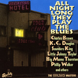 All Night Long They Play The Blues at the Galaxy Hotel Wall Decal