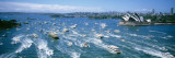 Pleasure Boats, Sydney Harbor, Australia Wall Decal by  Panoramic Images