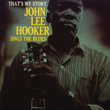John Lee Hooker - That's My Story Wall Decal