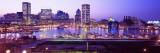 Inner Harbor, Baltimore, Maryland, USA Wall Decal by  Panoramic Images
