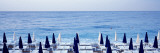 Lounge Chairs, Mediterranean Cote De Azur, Nice, France Wallsticker af Panoramic Images,