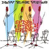 New York Voices - Sing! Sing! Sing! Autocollant mural