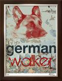 German Walker Limited Edition Framed Print by M.J. Lew
