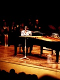 Ray Charles on Stage Wall Decal