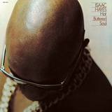 Isaac Hayes - Hot Buttered Soul Mode (wallstickers)