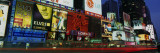 Billboards on Buildings in a City, Times Square, New York City, New York State, USA Wall Decal by  Panoramic Images