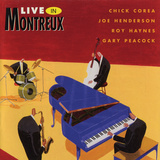 Chick Corea - Live in Montreux Wallstickers