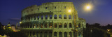 Ancient Building Lit Up at Night, Coliseum, Rome, Italy Wall Decal by  Panoramic Images