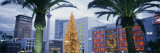 Decorated for Christmas/Winter Holidays, Union Square, San Francisco, California, USA Wall Decal by  Panoramic Images