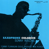 Sonny Rollins - Saxophone Colossus Wall Decal