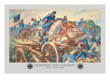 Remember Your Regiment, Mexican-American War Wall Decal by Hal Stone