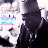 Thelonious Monk - San Francisco Holiday Vinilos decorativos