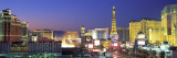 Dusk, the Strip, Las Vegas, Nevada, USA Wall Decal by  Panoramic Images