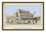 Campbell Printing Press Building, Centennial International Exhibition, 1876 Wall Decal by Thompson Westcott