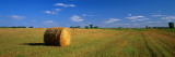 Hay Bales, South Dakota, USA wandtattoos von Panoramic Images 