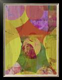 Vibrant Ellipses II Prints by Ricki Mountain