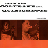 John Coltrane - Cattin' with Coltrane and Quinichette Autocollant mural