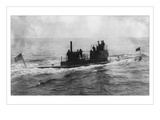The Lake Submarine Wall Decal