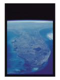 View of Florida Peninsula from Space Wall Decal
