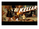 Kellar: Menagerie of Tricks Wall Decal