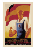 Fifth National Convention for Vocational Training Wall Decal by  Calandin