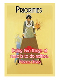 Priorities Wall Decal