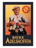 Biere Adelshoffen Wallsticker