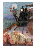 Damsel in Distress Wall Decal by Orson Lowell