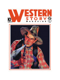 Western Story Magazine: The Shooter Wall Decal
