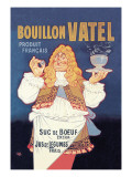 Bouillon Vatel Wall Decal by Eugene Oge