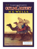 Outline of History by H.G. Wells, No. 14: Muhammad and Islam Wall Decal