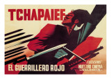 Tchapaief: The Red Guerrilla Wall Decal by Josep Renau Montoro
