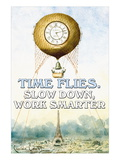 Time Flies Wall Decal