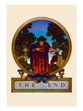 The End Wall Decal by Maxfield Parrish