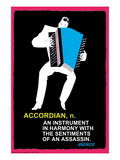 Accordian Wall Decal