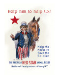 Help Him to Help U.S. Wall Decal by James Montgomery Flagg